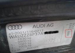 Oznaczenie literowe silnika